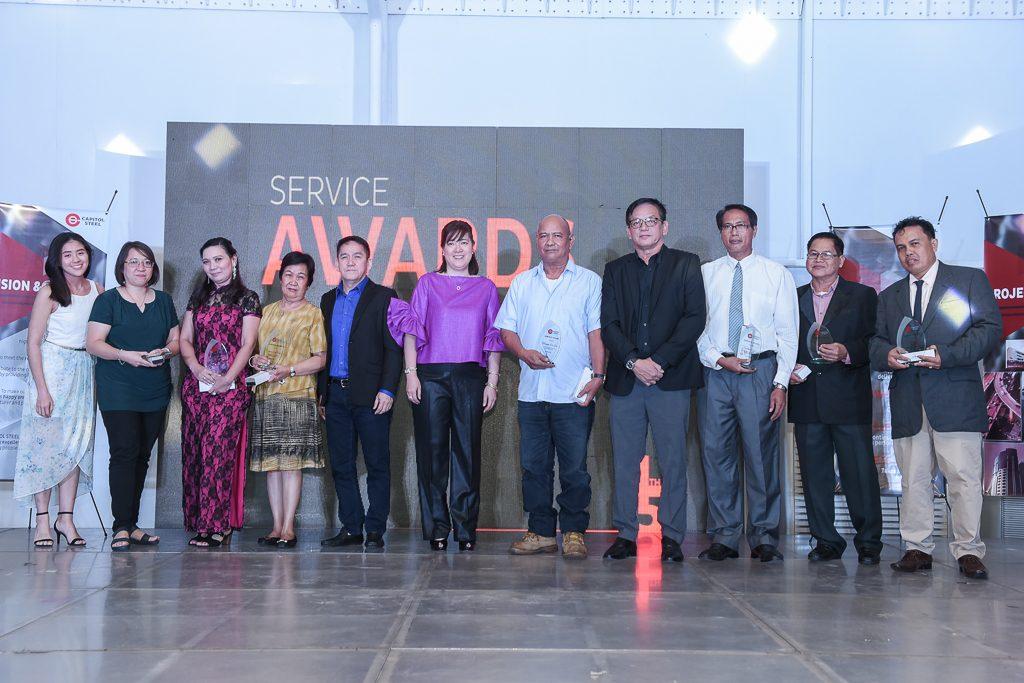 Service Awardees